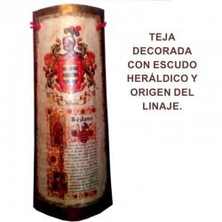 Teja Escudo heráldico de 1...