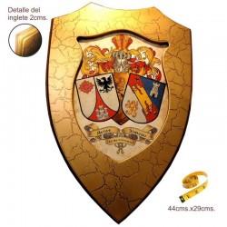 Metopa madera escudos 2...
