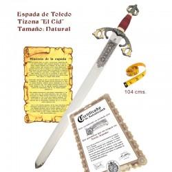 """Espada Tizona """"El Cid"""""""